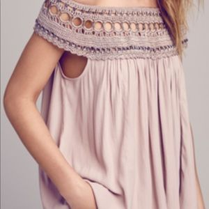 Free People Feel Free Woven Yoke Hardware Top